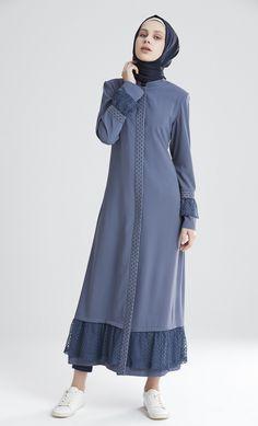 M5179 Abaya Fashion, Modest Fashion, Fashion Dresses, Modest Dresses, Simple Dresses, Modest Clothing, Moslem Fashion, Modele Hijab, Abaya Designs