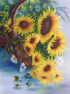 Demostración de Pintura Flores