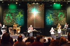 Web of Lines | Church Stage Design Ideas