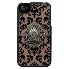 Damask Design: Filigree Medallion Iphone 4 Covers by The Case House