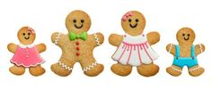 erbread men (and women) make great Christmas gifts – if you can resist eating them yourself! They're ideal for baking and decorating with child...