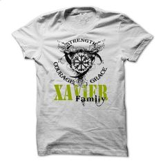XAVIER Family - Strength Courage Grace-rqajvrjejp - #pink sweatshirt #mens casual shirts. ORDER HERE => https://www.sunfrog.com/Names/XAVIER-Family--Strength-Courage-Grace-rqajvrjejp.html?60505