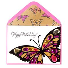 d2aab2871b4cbc Front view of mothers day card