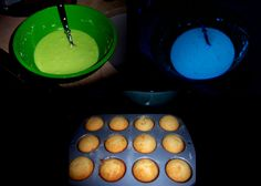 RECIPE: Glow Cupcakes -- it's all about the frosting. The food should glow at our Halloween Glow-In-The-Dark Spooktacular Party!