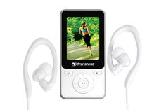 Transcend MP710 8GB MP3 Music Player Step Counter TS8GMP710 Fitness Sports video #Transcend