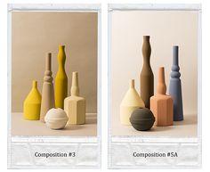 Sonia Pedrazzini in reference of Giorgio Morandi, his collection V is about ceramic jars,vases http://www.soniapedrazzini.it/home.php?livello=5&idc=198