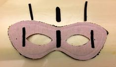 Sew Modern Sew Historical: Masquerade mask hack for people who wear glasses (with pictures)