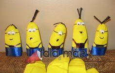 Fala, mãe!: DIY Minions nos dedinhos