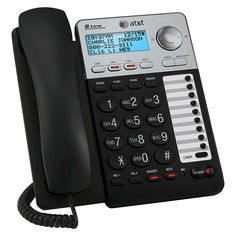 At&t ML17929 2-Line Corded Office Phone System with Caller ID/Call Waiting - Black