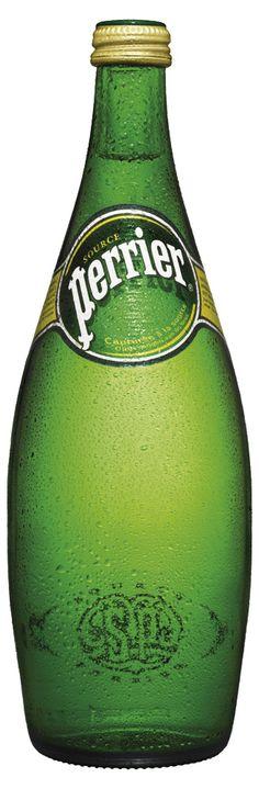 Вода минеральная Perrier, с газом, 0.75 л