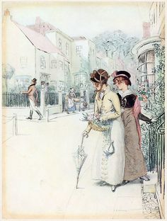 This is a really great regency era picture! Awesome!
