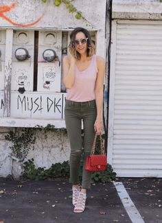 Part of the Troop In Utility Skinnies | Front Roe by Louise Roe