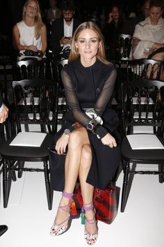Olivia at Dior Ready to Wear Spring Summer 2015 Collection in Paris