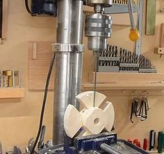 Homemade 4-jaw lathe chuck and face plate