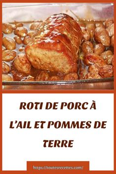 Food And Drink, Beef, Chicken, Cooking, Pork Roast Recipes, Pig Kitchen, Apples, Ham, Easy Food Recipes