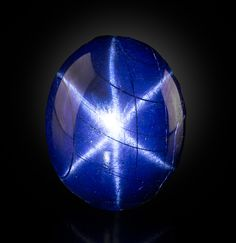 6-Point star sapphire from Thailand
