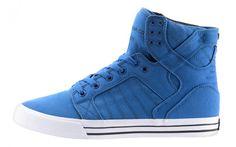 Sneakers N Stuff, High Top Sneakers, Supra Sneakers, Supra Skytop, Me Too Shoes, Kicks, Lace Up, Silhouette, Blue