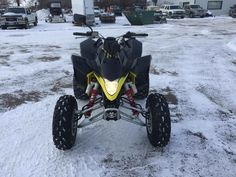 Used 2013 Suzuki QuadSport Z 400 (Ltz 400) ATVs For Sale in South Dakota. 2013 SUZUKI QuadSport Z 400 (Ltz 400), LIKE NEW CONDITION AND STREET LEGAL KIT ON THE LTZ 400!!! Sport quad is equipped with mirror, horn, lighted plate bracket, turn signals and windshield.