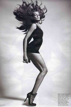 Publication: W Magazine April 2010 Model: Daria Werbowy Photographer: Mario Sorrenti Fashion Editor: Camilla Nickerson Hair: Luigi Murenu Make-up: Frank B. Daria Werbowy, Mario Sorrenti, Monochrome, Art Partner, W Magazine, Magazine Covers, Photoshop, Patrick Demarchelier, My Hairstyle