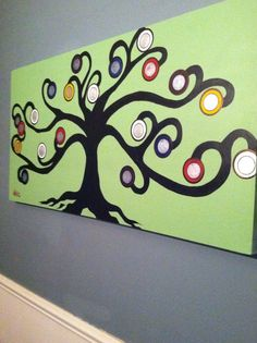 My first abstract tree painting! -Anna Jones
