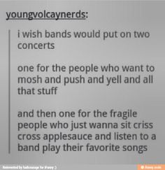 "I just wanna sit criss cross applesauce and listen to Patrick Stump sing,""What A Catch, Donnie."""