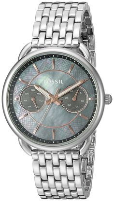 Fossil Tailor Multifunction Stainless Steel Watch -- You can get more details by clicking on the image.