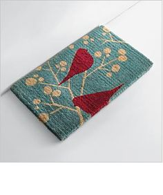 Bill Giyaman posted red envelope, red birds to their -birds- postboard via the Juxtapost bookmarklet. Christmas Projects, Christmas Home, Christmas Ideas, Red Envelope, Holiday Festival, Entry Rug, Christmas Inspiration, Unique Gifts, Christmas Decorations