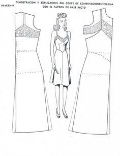 Выкройки ретро платьев и сарафанов | 243 фотографии