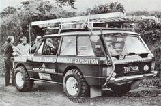 Darien Breakthrough - Range Rover Classic