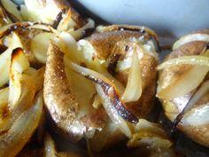 Portuguese Punched Potatoes - Batatas ao Murro....Yum!