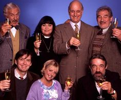 The Vicar of Dibley is a British sitcom created by Richard Curtis and written for its lead actress, Dawn French. It aired from 1994 to British Tv Comedies, British Actors, British Comedy Series, Comedy Tv, Comedy Show, English Comedy, Vicar Of Dibley, Dawn French, Movies