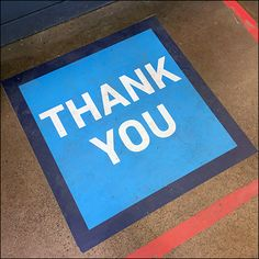 CoronaVirus Social Distancing Thank-You Floor Graphic Service Counter, Floor Graphics, Store Fixtures, Cold Remedies, Home Depot, Close Up, Waiting, Retail, Flooring