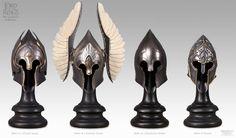 Gondorian helmets.