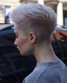Hair Chick Fade Haircuts