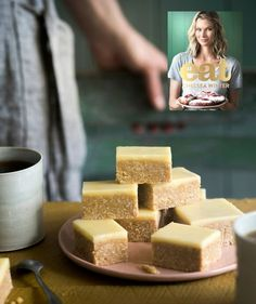 No baking involved, it's quick to throw together Prep time: 15 minutes plus a few hours setting time. Coconut Biscuits, Gluten Free Biscuits, Chelsea Winter, Baking Recipes, Cake Recipes, Dessert Recipes, No Bake Slices, Digestive Biscuits, Thing 1