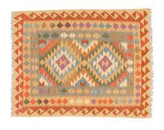 Alfombra Kilim Afghan Old style 99x128 100€