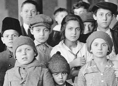 Italian immigrant children at Ellis Island in 1908 - Google Search