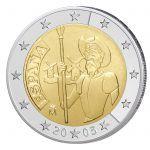 Spanien 2 Euro Sondermünze 2005 - 400 Jahre Don Quijote