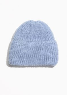 & Other Stories Chunky Beanie in Blue