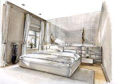 Raumkonzepte Peter Buchberger / Project: Frankfurt Penthouse