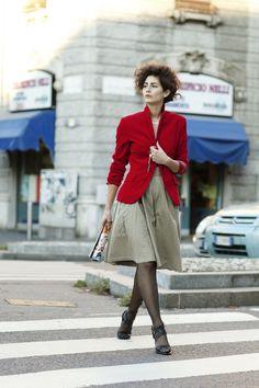 On the Street….Savitri, Milano « The Sartorialist