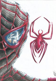 Drawing: Spider - Man Miles Morales - 03 -