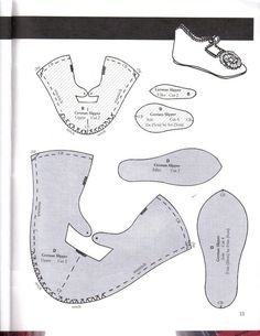 Baby Shoes Pattern Sewing Children Ideas For 2019 Doll Shoe Patterns, Baby Shoes Pattern, Sewing Patterns, Felt Shoes, Sewing Dolls, Ag Dolls, Girl Dolls, Baby Kids Clothes, Fabric Dolls