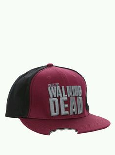 Bitten Out Of Walking Dead Snapback Hat