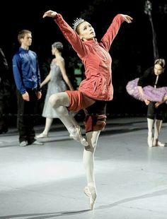 """Svetlana Zakharova rehearsing """"The Sleeping Beauty"""" /photo by Nikolay Krusser"""