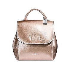 a66f1e66df04 New Coach Derby Rose Gold Tote Purse Leather Backpack F16605 Women Bag.  [$189]