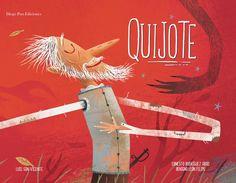 Libro para acercarnos a las aventura de Don Quijote a través de sugerentes…