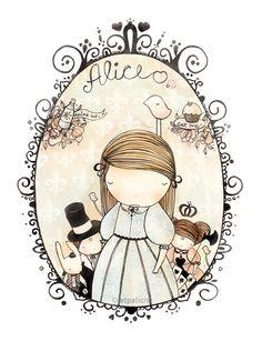 Alice in Wonderland By atpalcis