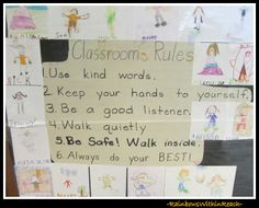 Posted Classroom Rules: Fine Motor