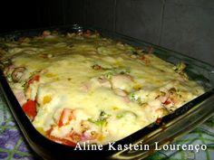Salada Quente de Peito de Peru da Aline Receita no link http://www.culinariareceitas.blogspot.com.br/2013/03/salada-quente-de-pao-peito-de-peru.html